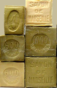 I picked up a block of savon de marseille last summer in France. It's great for the skin French Milled Soap, French Soap, Olive Green Color, Green Colors, Marseille Soap, Savon Soap, Soap Recipes, Home Made Soap, Handmade Soaps
