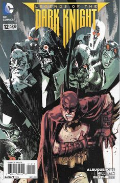 Legends of the Dark Knight # 12 DC Comics ( 2013 )