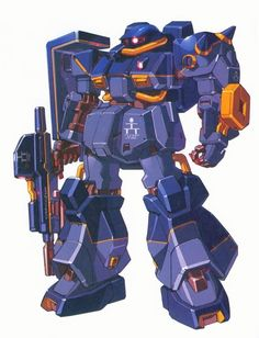 YRMS-106 Hizack Pre-Production Type is prototype mobile suit that appears in the novel Advance of Zeta: The Flag of Titans.
