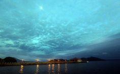 #espaciohonduras Atardecer Muelle de Amapala