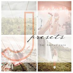The Pastel Pack contains the five presets I use to edit all the images you see on my Instagram. They add a very light + creamy feel to photos and are extremely versatile (can be tweaked to work with any lighting situation). I have been developing these presets for years and am so excited to share th