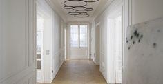 Parisian Style, Architecture, Decoration, Lights, Living Room, Mirror, Inspiration, Classic, Furniture