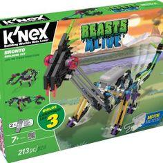 K'NEX Beasts Alive Bronto Building Set