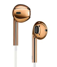 Solid Gold Apple Earpods designed by Jony Ive and Marc Newson