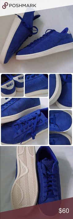 LISTING NIKE TENIS CLASSICS CS SUEDE SIZE 9 -BRAND NEW IN BOX -SIZE: 9MEN -COLOR: IVORY/ROYAL BLUE -MADE IN INDONESIA  -INCLUDE ORIGINAL BOX WHEN SHIP    ⚠️⚠️⚠️PLEASE UNDERSTAND SOMETIME THE BOX POSSIBLY DAMAGED. IF YOU CONCERNED ABOUT THE BOX PLEASE ASK FIRST BEFORE PURCHASE. PLEASE PAY ATTENTION TO DETAILED OF SHOES OF THE PIC. THANKS ⚠️⚠️⚠️⚠️⚠️       ⭐️TOP RATED SELLER FAST SHIPPER NEXT DAY SHIPPING ❌NO TRADE ❌NO PAYPAL ✅BUNDLE OFFER Nike Shoes Sneakers