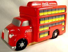 Coca-Cola Delivery Truck Cookie Jar - Happy Toy Depot