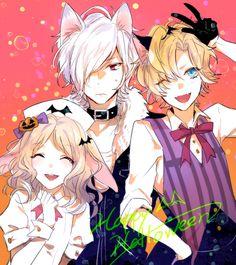 Yui, Subaru & Kou - Diabolik Lovers - Happy Halloween