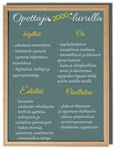 Opettaja ja digitaidot | Lyseo.org blogi  #huoneentaulu