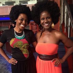 TBT with @veepeejay at #KnowYourRootsDallas! #fundfollicle #follicle #naturalhair #bellakinksevents #karensbeautiful. I had a great time with this amazing naturalista!