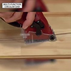 Small AND Powerful Multi-function Circular Saw is designed with a motor inside a construction-grade chasse that's durable, incredibly light and fits easily in the palm of any size hand. This high powered hand saw cuts. Woodworking Power Tools, Woodworking Projects, Woodworking Classes, Woodworking Videos, Woodworking Shop, Woodworking Ruler, Woodworking Software, Woodworking Patterns, Woodworking Workshop