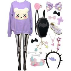 Where to buy cheap Pastel goth Leggings ♡ We made a selection of the best kawaii cute leggings that goes perfect for your new pastel goth outfit! Description from pinterest.com. I searched for this on bing.com/images