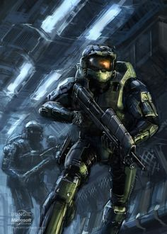 Master Chief - HALO - Isaac Hannaford