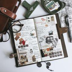 总觉着自己好久没玩文具了。 事实上,的确很久了。 . . . . . . #midori#midoritravelersnotebook#travelersnote#travelersnotebook#weeklyplanner#planner#journal##journaling#stationery#diary#stamp#stickers#scarpbooking#photooftheday#lifestyle#手帳#文房具#紙膠帶#手帳好朋友