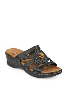 1dd372bc94f Collection By Clarks Lexi Cushioned Slip-On Sandals