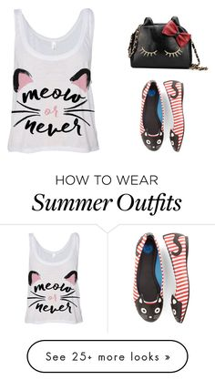"""""""The Cat"""" by fashionconnery on Polyvore featuring T.U.K., women's clothing, women's fashion, women, female, woman, misses and juniors"""