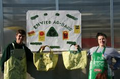 Connecticut FFA chapter upcycles feed bags as fundraiser. Members are bringing back a practice that started about 90 years ago. The students are turning old feed bags into new shopping bags and aprons and then selling them to the local community. This is a great project that teaches students to become nvironmentally conscious by salvaging something that would have gone to waste and creating a useful item. The students enjoy making the bags and how much variety there is between each product.