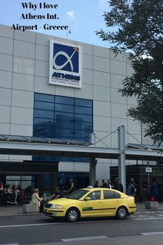 Athens International Airport, Greece is a clean, modern and sophisticated place to fly from/to