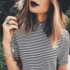 alternative, fashion, grunge, hair, indie, makeup