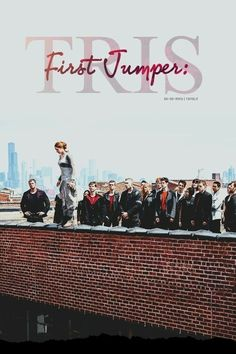 The First Jumper : Tris DIvergent. Divergent Hunger Games, Divergent Fandom, Divergent Trilogy, Divergent Insurgent Allegiant, Divergent Quotes, Divergent Drawings, Divergent Dauntless, Tfios, Veronica Roth