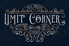 Limit Corner Typeface + Extras by StoricType on @creativemarket