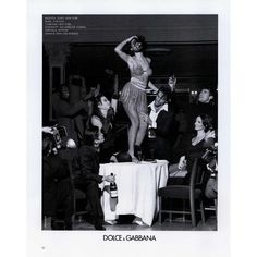 Dolce & Gabbana Ad Campaign Spring/Summer 1992 - MyFDB ❤ liked on Polyvore featuring ad campaign