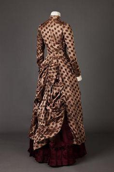 Dress. 1885 - 1886. | Goldstein Museum Of Design
