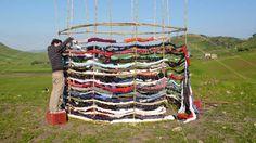 Pic Nic, Building Textures workshop. San Michele di Ganzaria, Catania, 2009.