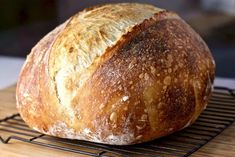 Bakery quality Sourdough bread easily made in your dutch oven at home. Take the time to create your own artisan loaves. Fantastic Bread for your family! Artisan Sourdough Bread Recipe, Sourdough Bread Starter, Artisan Bread Recipes, Sourdough Recipes, Sourdough Bread Recipe King Arthur, Bread Recipe By Weight, Beginners Bread Recipe, Bread Baking, Deserts