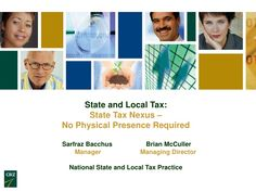 This presentation discusses:  • The general rules of state income/franchise and sales/use tax nexus   • Sales/use tax nexus rules from those for income/franchise taxes  • Recent trends in both income/franchise and sales/use tax nexus  • Remedial options available to taxpayers     For more information, please visit http://www.cbiz.com.