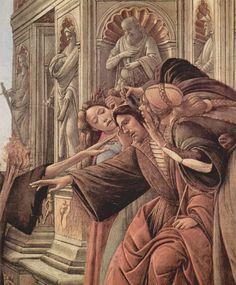 Sandro Botticelli - Slander (detail)