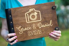 Your place to buy and sell all things handmade Wedding Photo Albums, Wedding Album, Wedding Scrapbook, Guestbook, Book Journal, Wedding Gifts, Best Gifts, Memories, Group