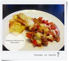 chicken with mozzarella and tomatoes - Tomaten und Mozarella mit Hühnchen