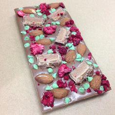 Raspberries Almonds Mint Chips & Mars Bar #yum #delish #love #Belgian #chocolate #instachocolate #chocolatelover