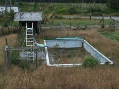Abandoned Pool by Giant Ginkgo, via Flickr
