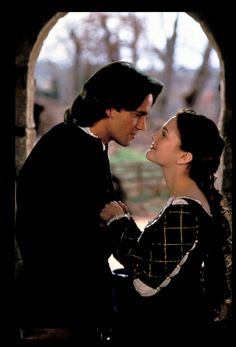 with Dougray Scott in a still from Ever After (1998)
