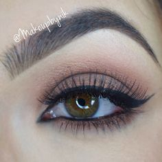Too Faced Chocolate Bar eyeshadow. For Full details and step by step picture tutorials follow Makeupbynik on Instagram!