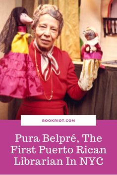 The first Puerto Rican librarian in New York City left an incredible legacy.   libraries | libraries | Pura Belpré