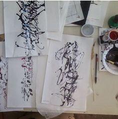 Yukimi Annand 's calligraphy work