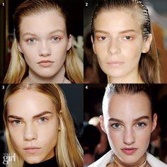 vogue girl korea/ eyebrow grooming