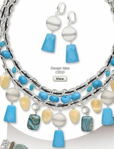Spring/Summer 2014 Jewelry-Making Trends - Sahara - Fire Mountain ...