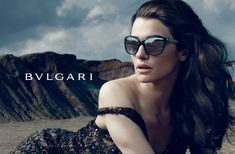 Global advertising campaign for Bulgari 'Eternal Beauty,' with Rachel Weisz (2012). Photography by Annie Leibovitz.