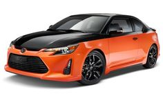 2015 Scion tC Release Series 9.0 Revealed in Orange and Black