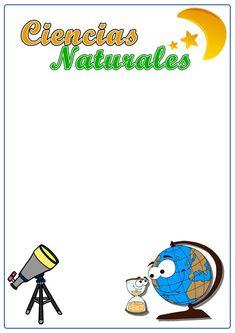▷ Caratula de Ciencias Naturales: Los MEJORES diseños del 【2020 】 Barbie, Borders For Paper, Leo, Stickers, School, Fictional Characters, Google, Teaching Supplies, Toddler Arts And Crafts