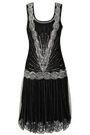 20s style black and silver flapper dress for 1920's Great Gatsby / prohibition theme costume party this New Years Eve!!