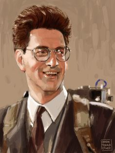 Ghostbusters - Egon Spengler by Meg Richmond *