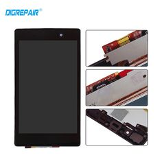 DigRepair White Black For Sony Xperia LCD Display +Touch Screen Digitizer assembly With Frame Galaxy Phone, Samsung Galaxy, Sony Xperia, Display, Touch, Free Shipping, Iphone, Frame, Black People