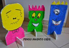 penso+invento+creo: Monster Bowling, giochi in casa o all'aperto acchiappiamo i Mostri!
