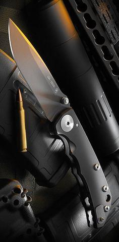 Spartan Blades Spartan Harsey EDC Folding Knife Blade Black DLC SF5BK - Tactical Everyday Carry Knife Gear