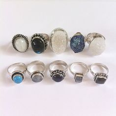 #rings #jewelry #accessories #vintage #photography