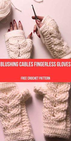 Modern Crochet, Easy Crochet, Beginner Crochet, Free Crochet, Crochet Afghans, Crochet Things, Crochet Ideas, Crochet Hats, Crochet Gloves Pattern